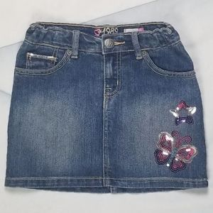 Est 1989 Place Girls Jeans Skirt